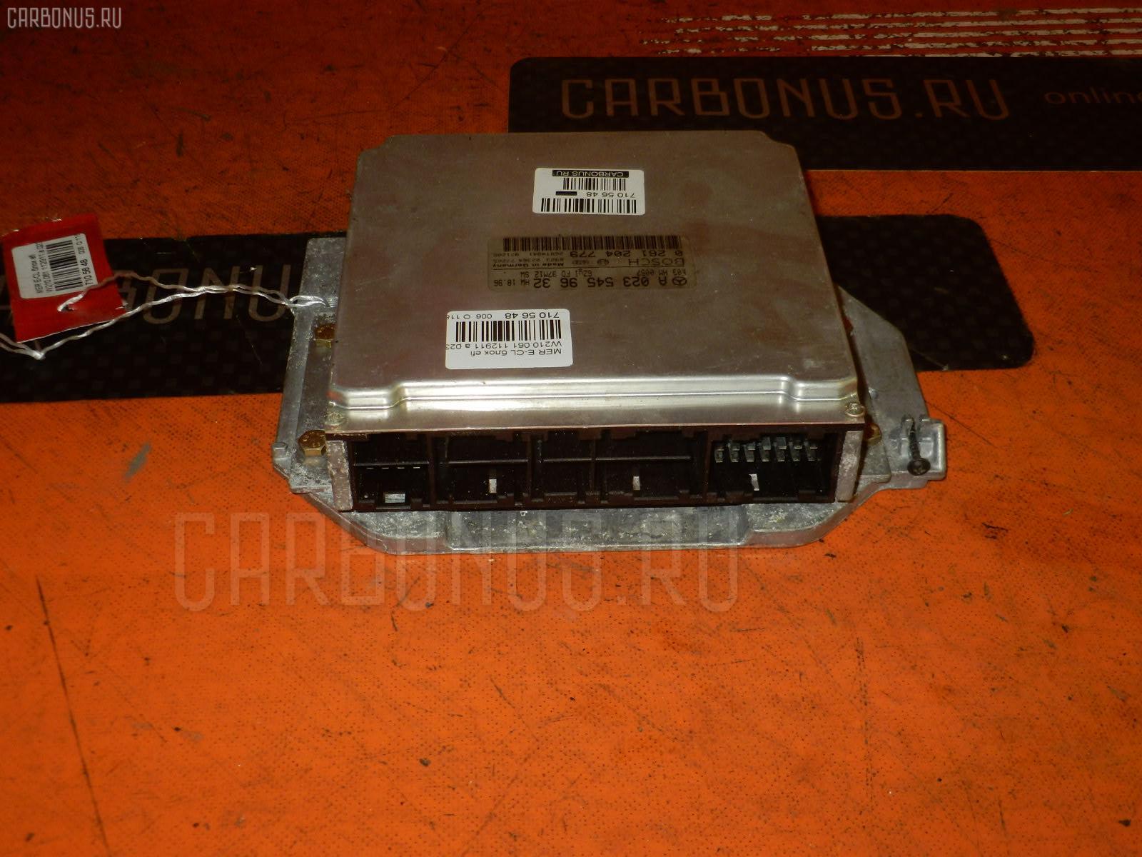 Блок EFI MERCEDES-BENZ E-CLASS W210.061 112.911 Фото 1
