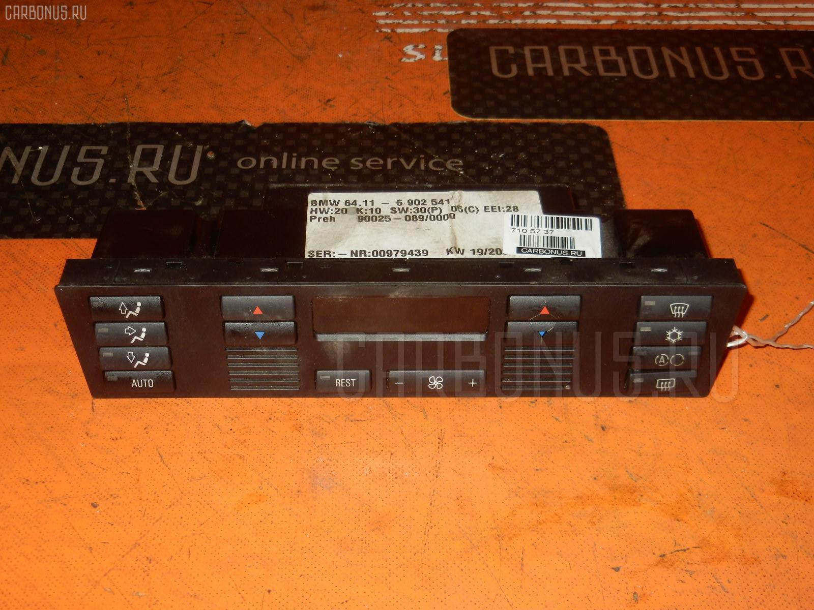 Блок управления климатконтроля BMW 5-SERIES E39-DM42 M52-256S4. Фото 1