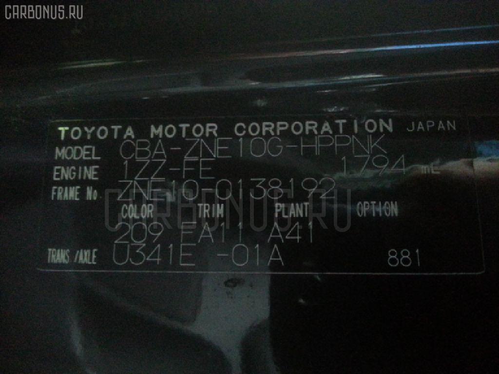 Зеркало двери боковой TOYOTA WISH ZNE10G Фото 3