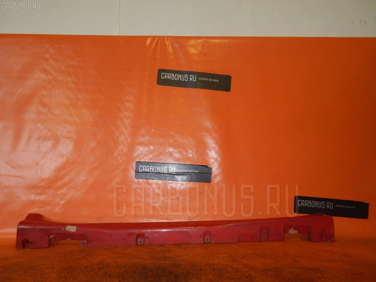 Порог кузова пластиковый ( обвес ) TOYOTA VITZ SCP10. Фото 7