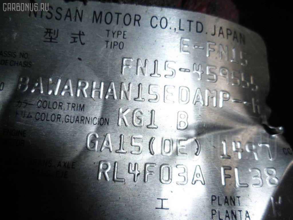 КПП автоматическая NISSAN PULSAR FN15 GA15DE. Фото 5