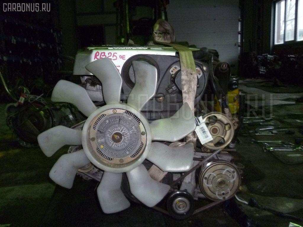 Двигатель NISSAN LAUREL GC35 RB25DE. Фото 10