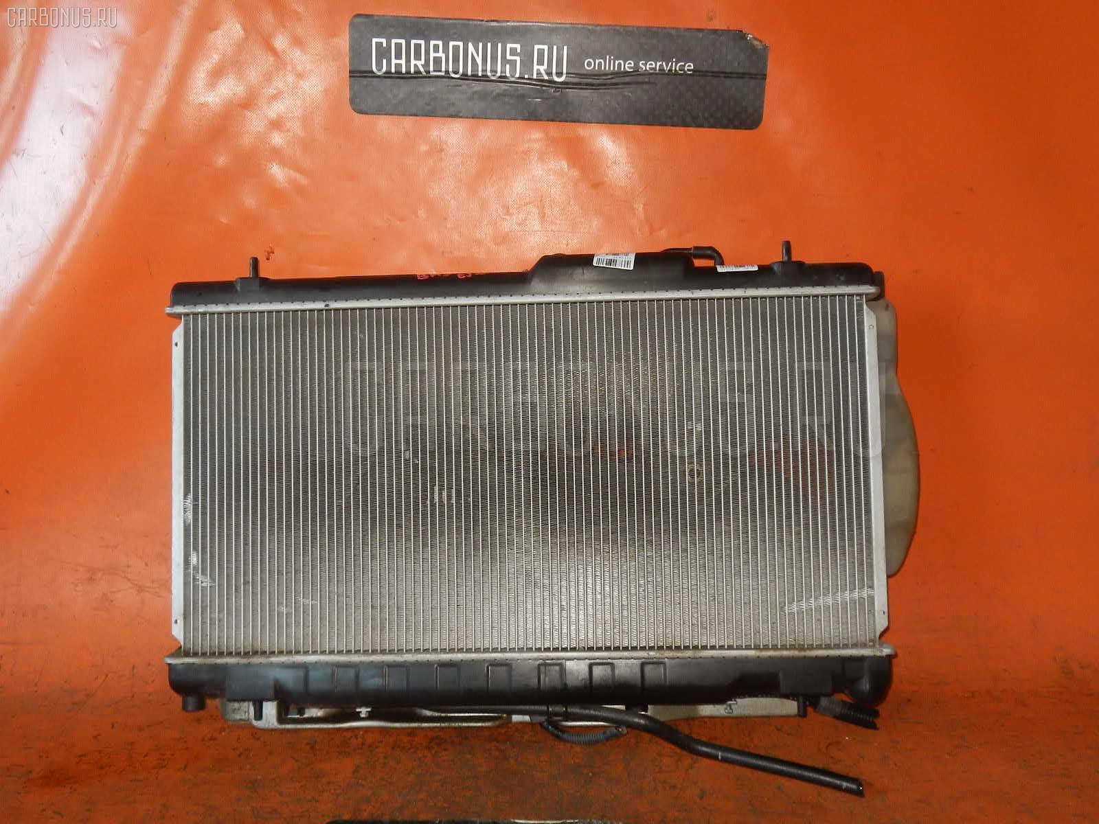Радиатор ДВС SUBARU LEGACY WAGON BH5 EJ20-T. Фото 1