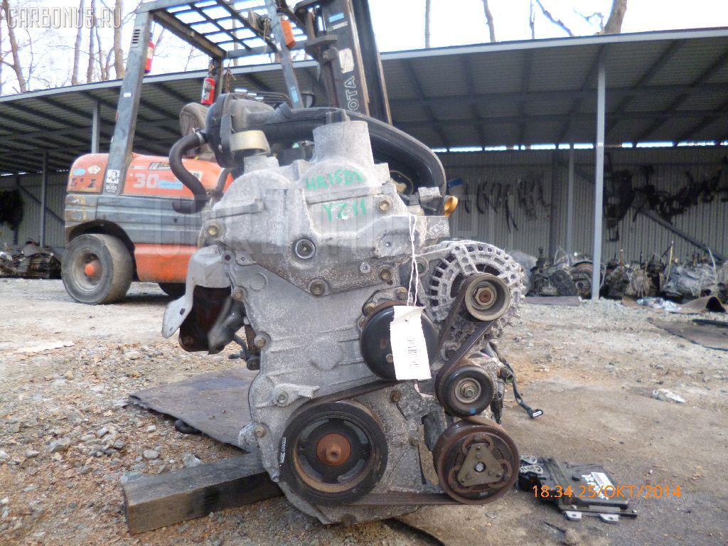 Двигатель NISSAN CUBE YZ11 HR15DE Фото 2