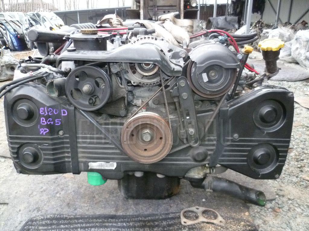 Двигатель SUBARU LEGACY WAGON BG5 EJ20D. Фото 5