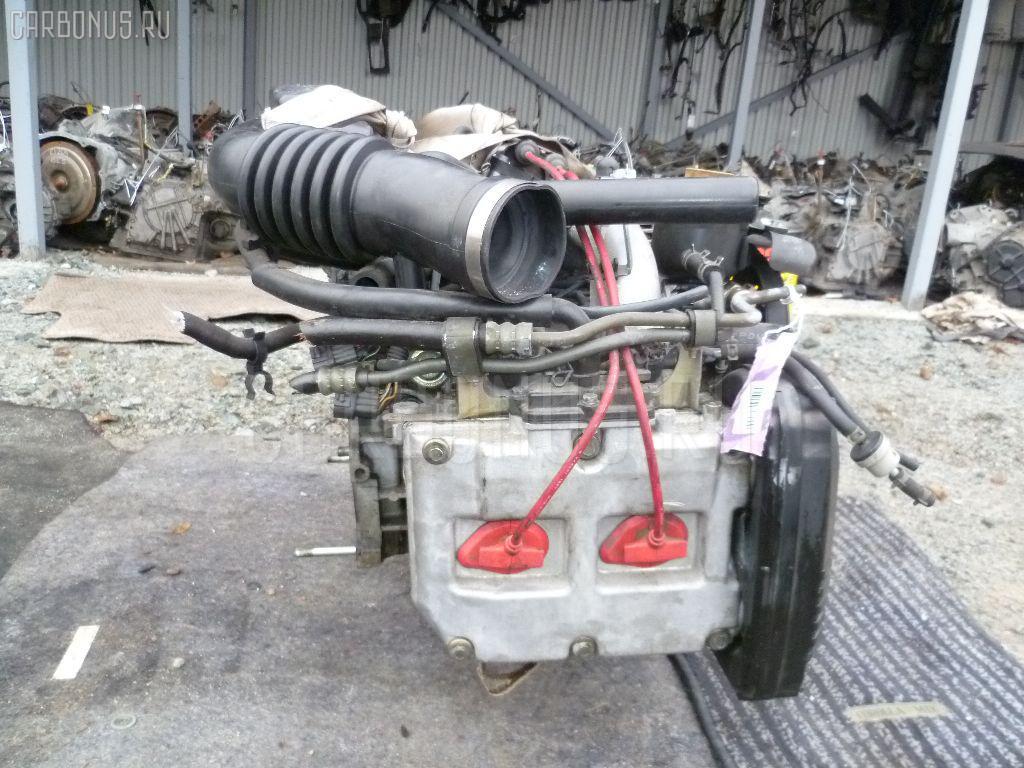 Двигатель SUBARU LEGACY WAGON BG5 EJ20D. Фото 6