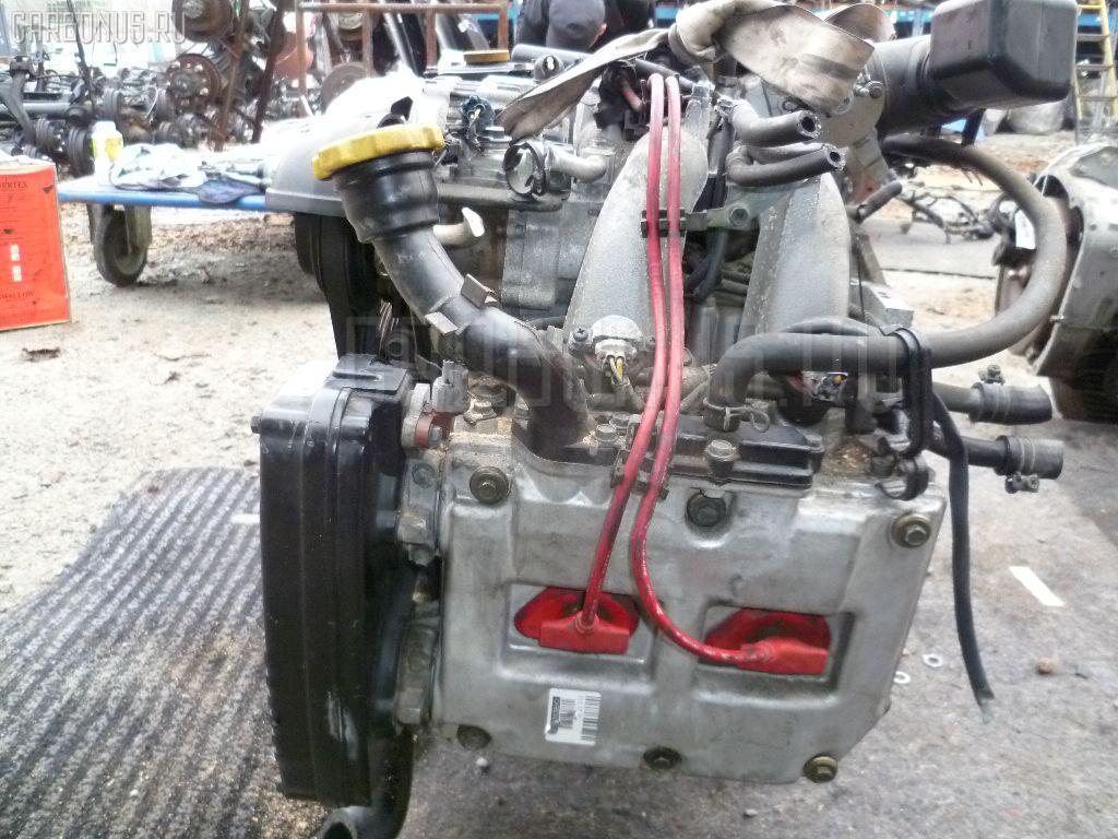 Двигатель SUBARU LEGACY WAGON BG5 EJ20D. Фото 8