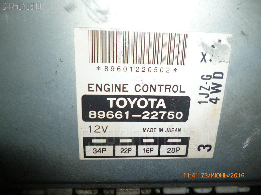 Двигатель TOYOTA CHASER JZX105 1JZ-GE. Фото 6