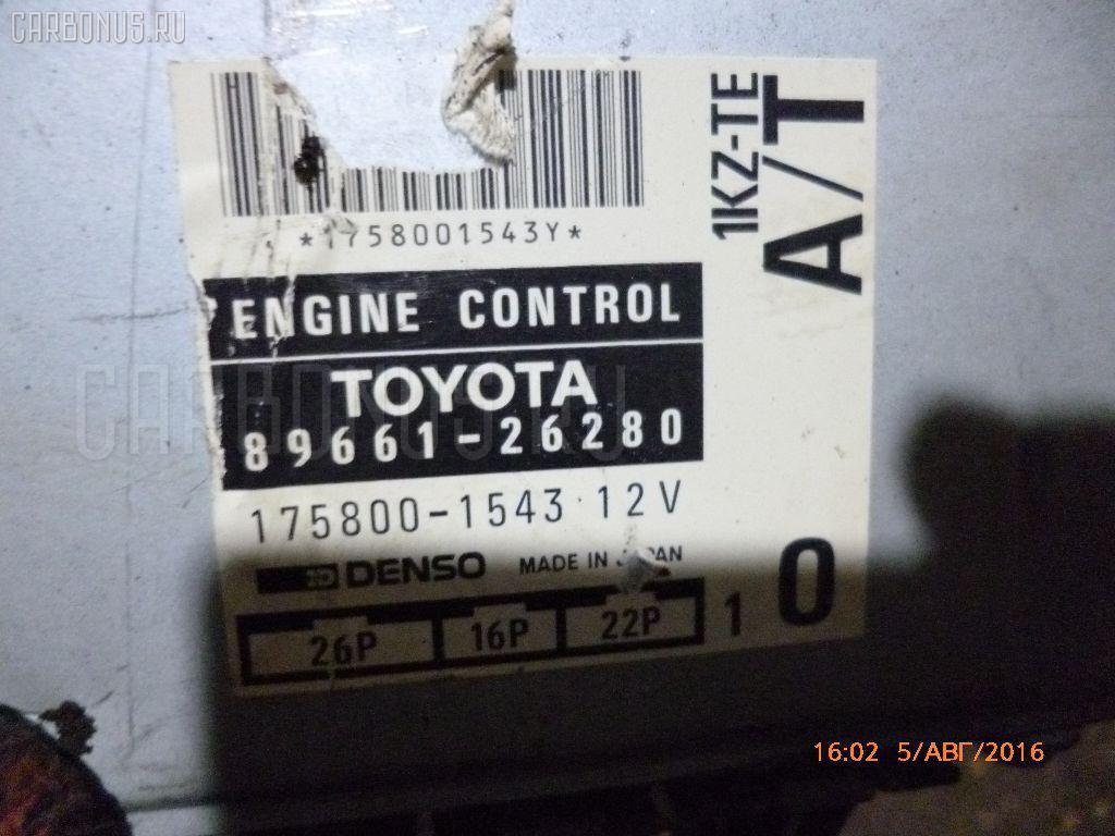 Двигатель TOYOTA GRANVIA KCH16W 1KZ-TE Фото 1
