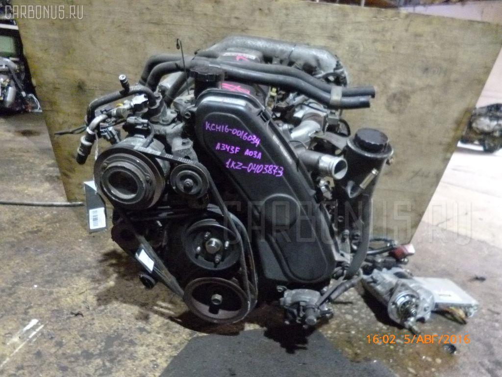 Двигатель TOYOTA GRANVIA KCH16W 1KZ-TE Фото 4