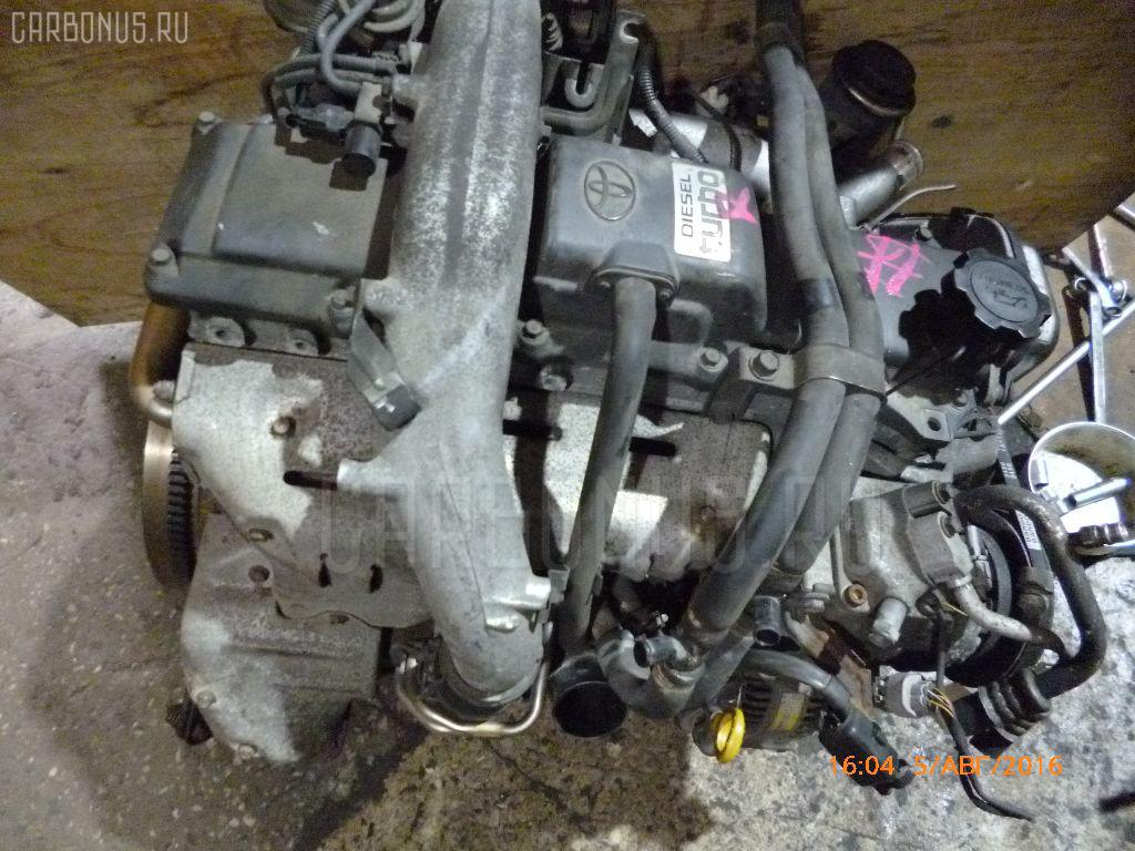 Двигатель TOYOTA GRANVIA KCH16W 1KZ-TE Фото 10