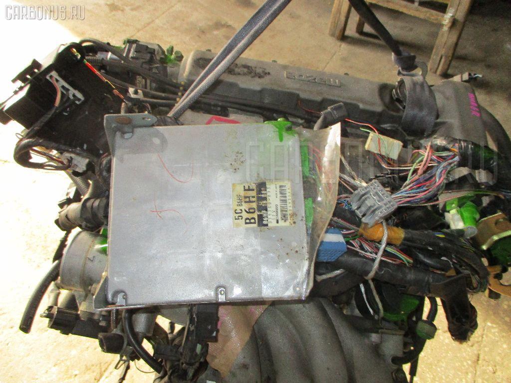 Двигатель MAZDA FAMILIA BHA6R B6-DE Фото 4