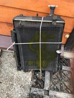 Радиатор ДВС MITSUBISHI MINICA H42A 3G83 Фото 2