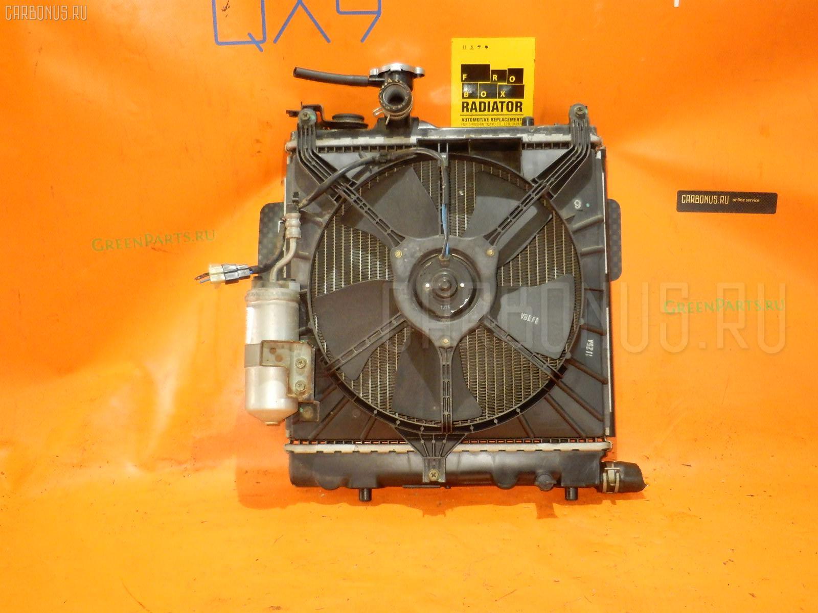 Радиатор ДВС SUZUKI ALTO HA23S K6A Фото 1