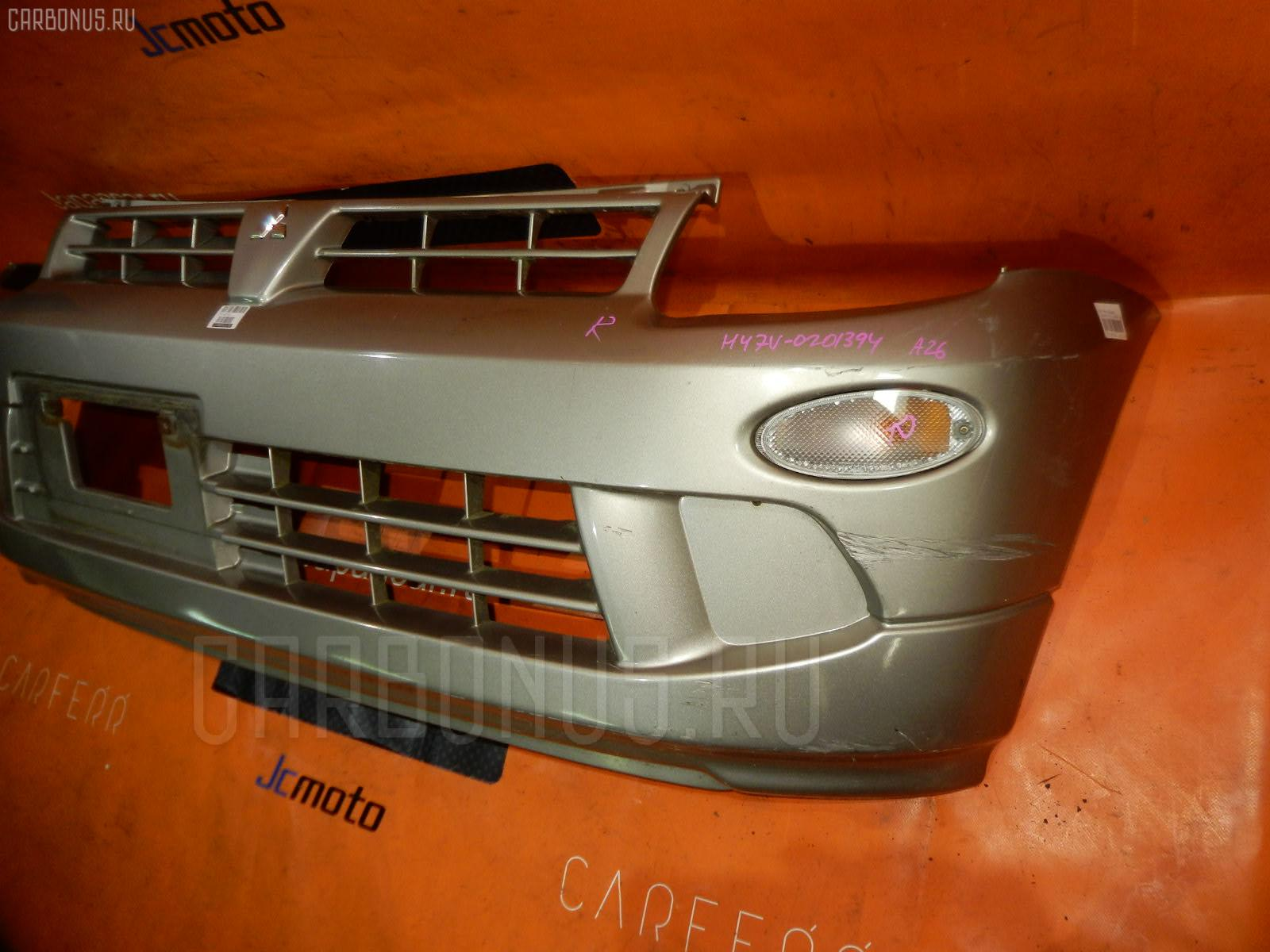 Бампер Mitsubishi Minica H47V Фото 1