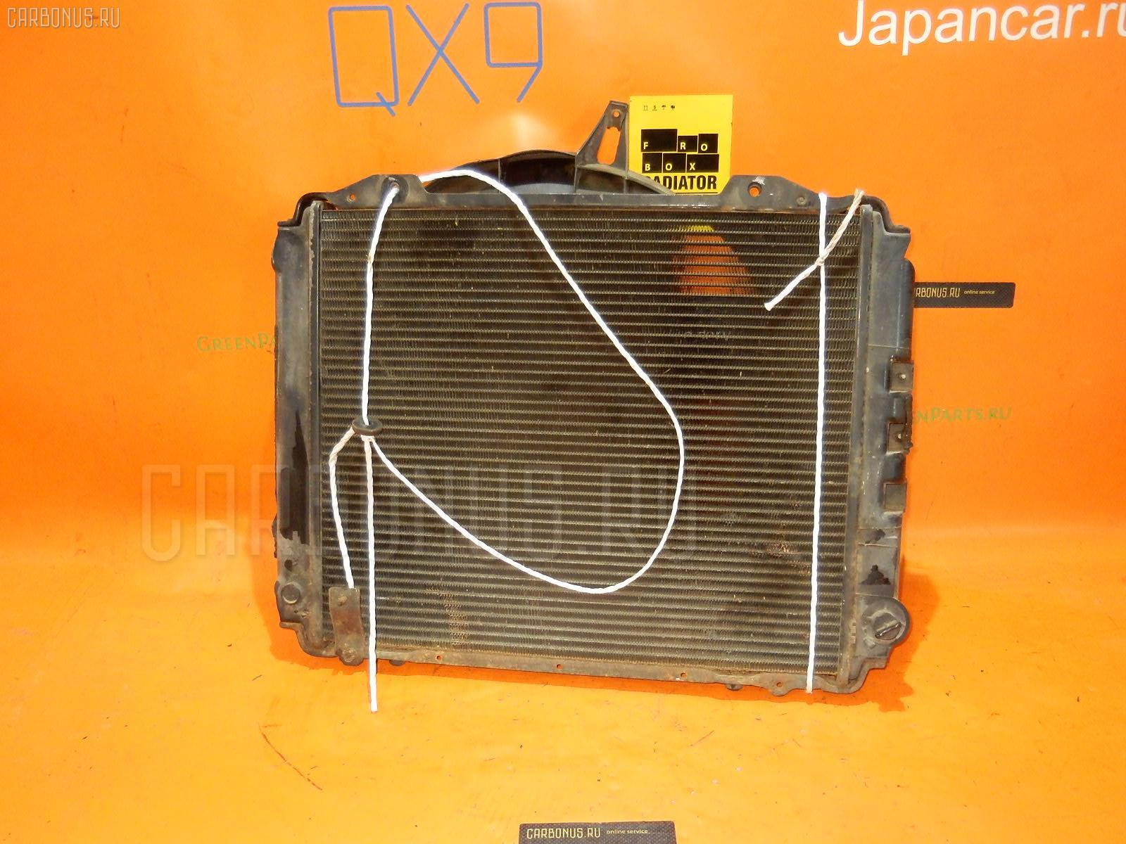 Радиатор ДВС NISSAN VANETTE VUJNC22 LD20 Фото 2