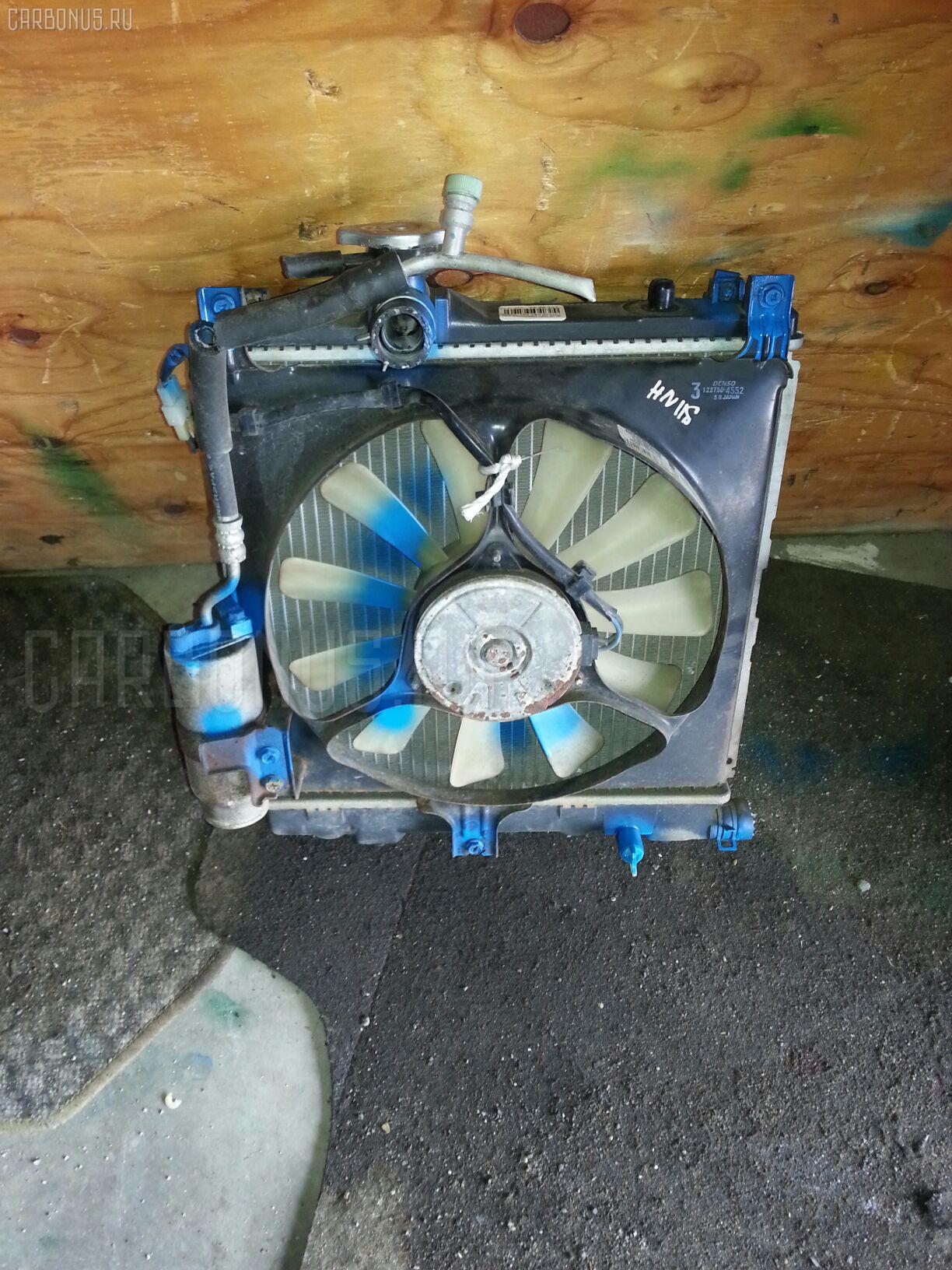 Радиатор ДВС SUZUKI KEI HN11S F6A Фото 1
