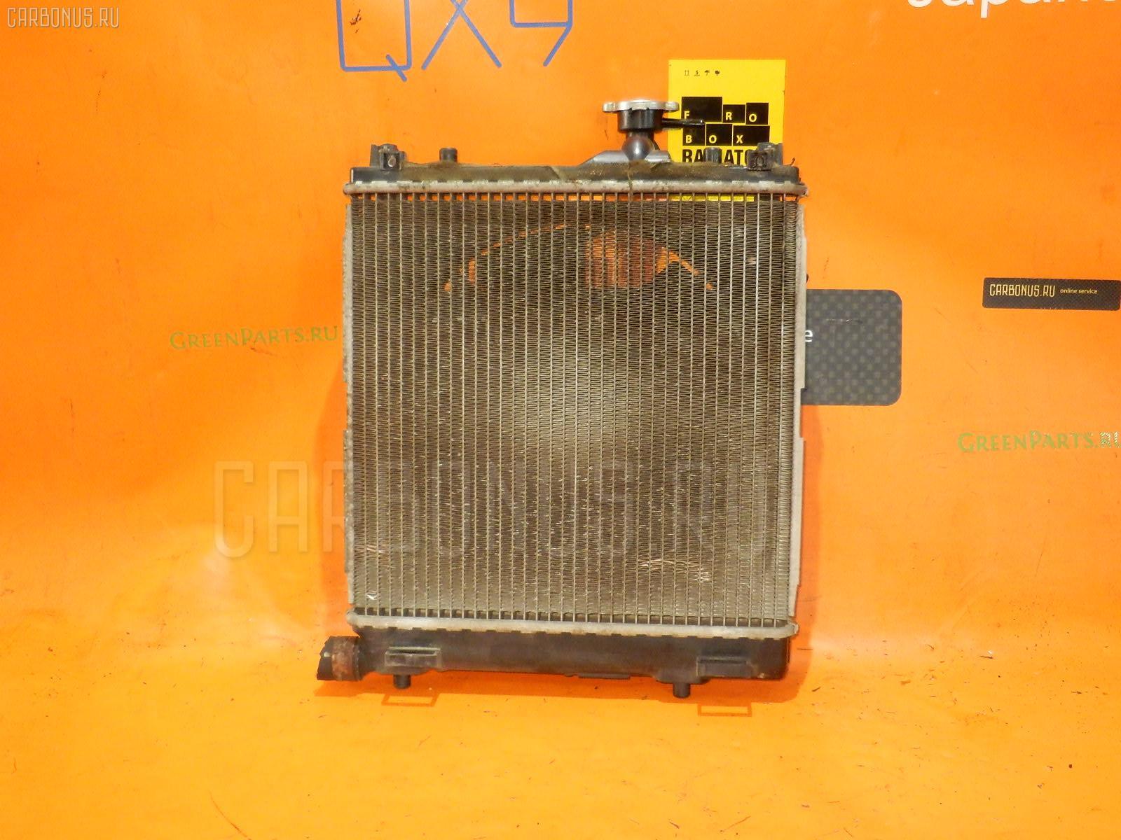 Радиатор ДВС SUZUKI KEI HN22S K6A. Фото 5
