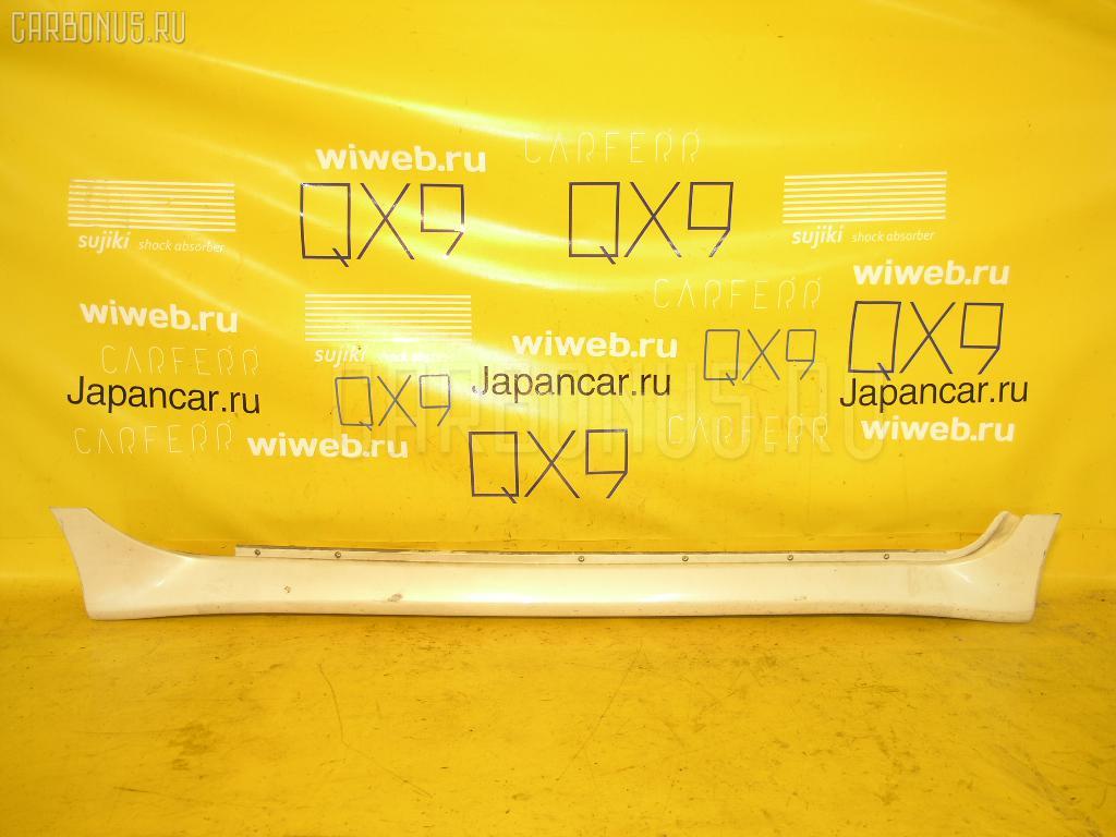 Порог кузова пластиковый ( обвес ) TOYOTA IST NCP61. Фото 7