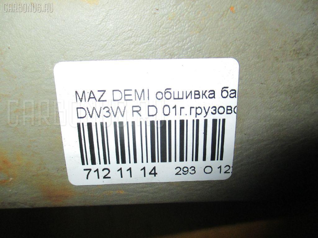 Обшивка багажника MAZDA DEMIO DW3W Фото 3
