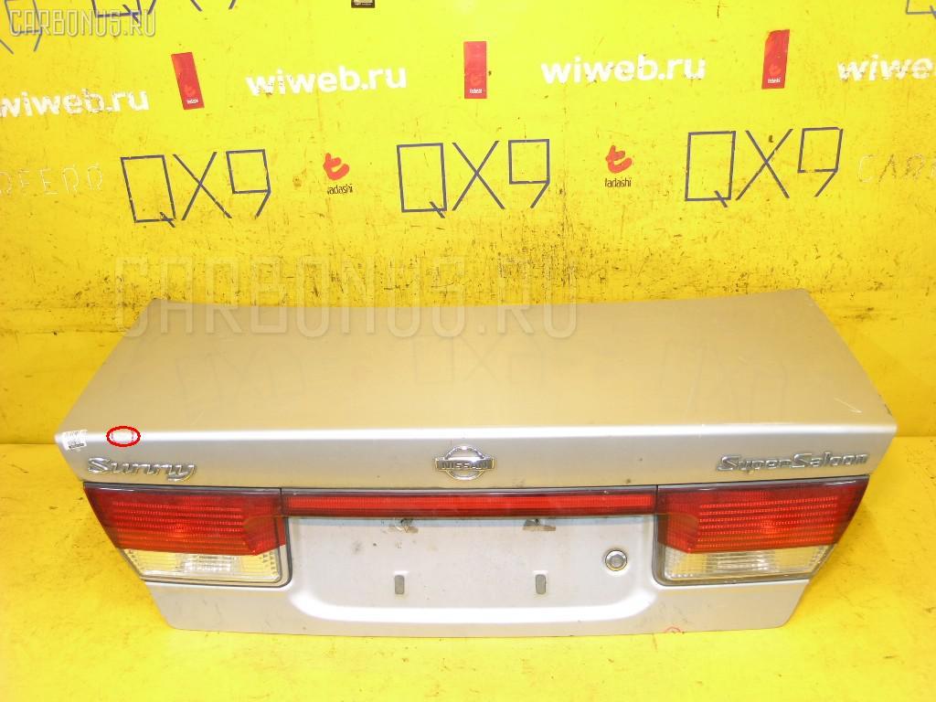 Крышка багажника NISSAN SUNNY FB15. Фото 9
