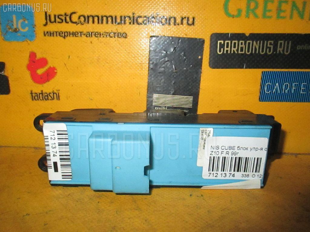 Блок упр-я стеклоподъемниками NISSAN CUBE Z10. Фото 4