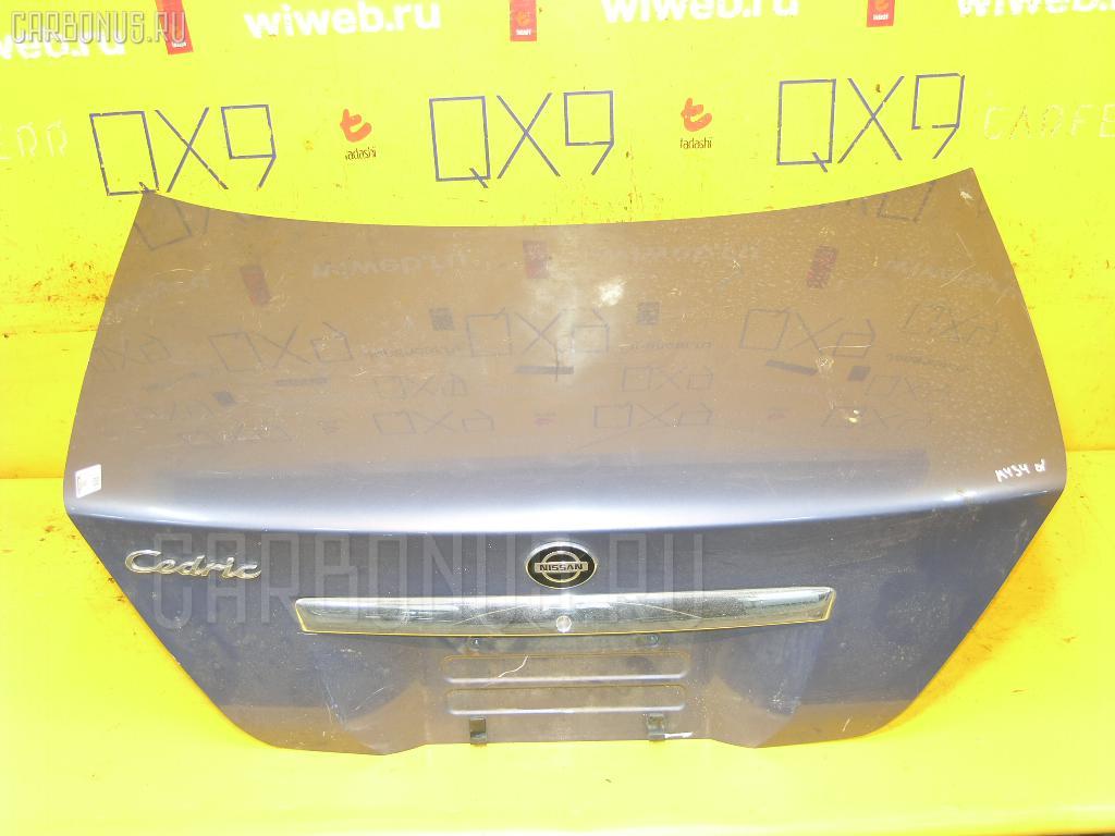 Крышка багажника NISSAN CEDRIC MY34. Фото 7