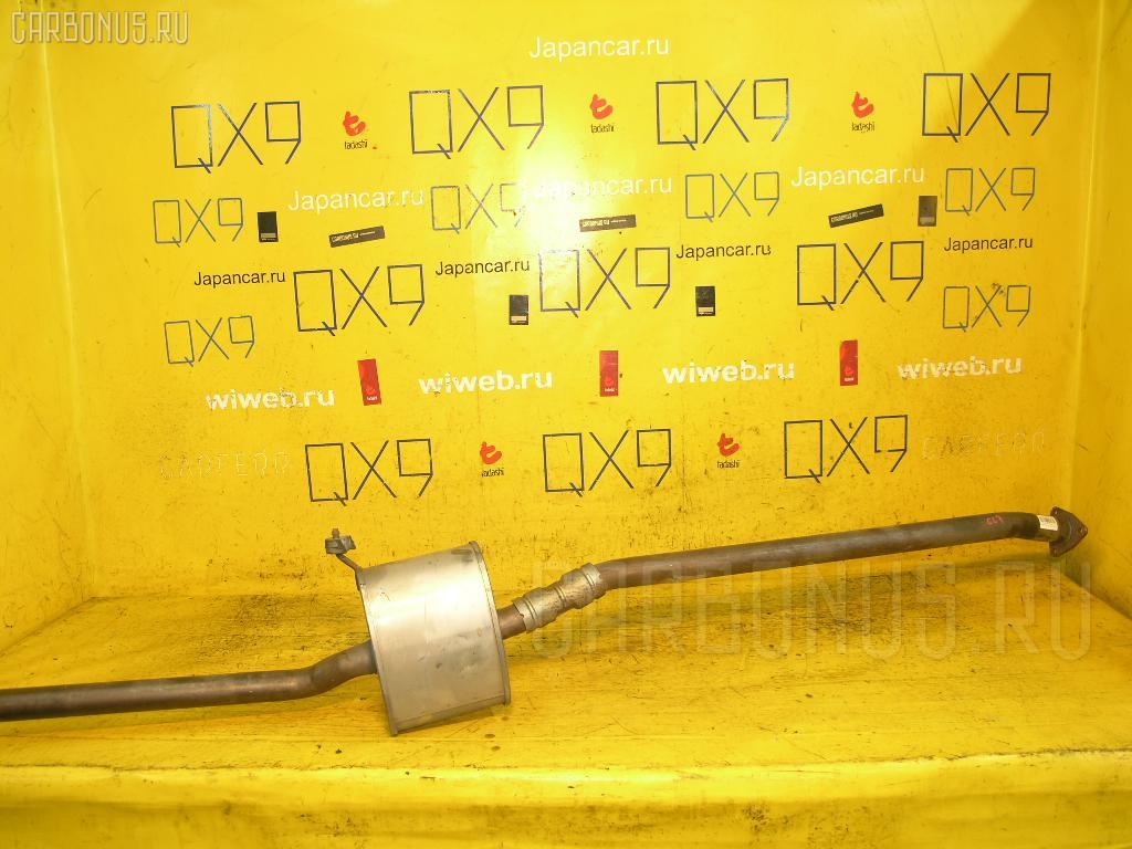 Глушитель HONDA ACCORD CL7 K20A. Фото 4