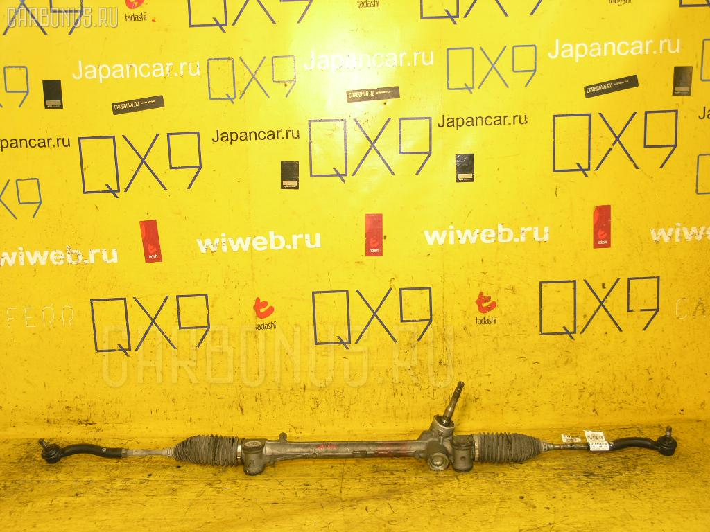 Рулевая рейка TOYOTA RACTIS NCP100 1NZ-FE. Фото 7