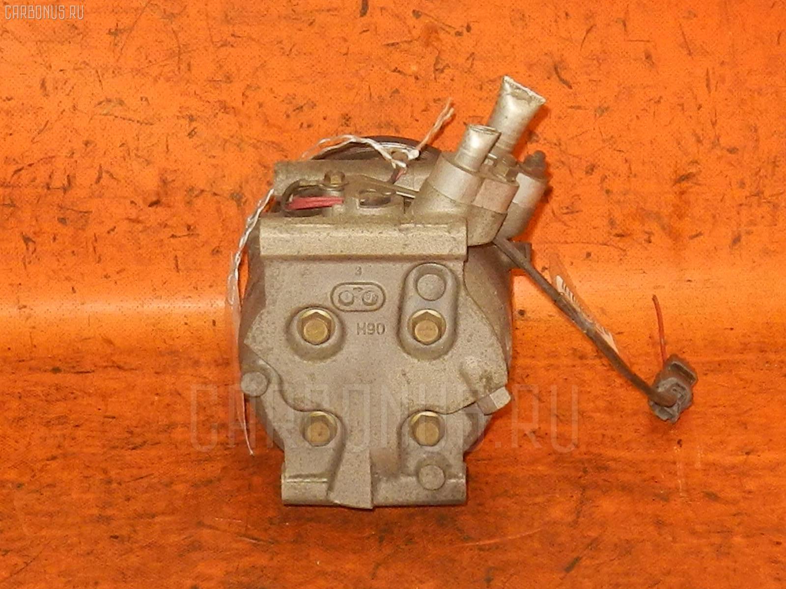 Компрессор кондиционера HONDA ACCORD CL3 F20B. Фото 4