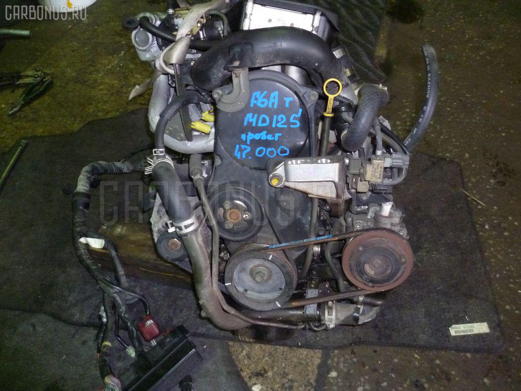 Двигатель SUZUKI WAGON R MC12S F6A-T Фото 11