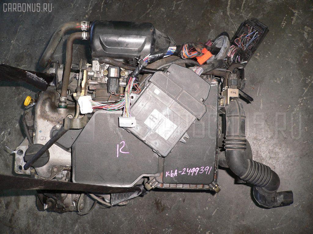 Двигатель SUZUKI ALTO HA23S K6A Фото 1