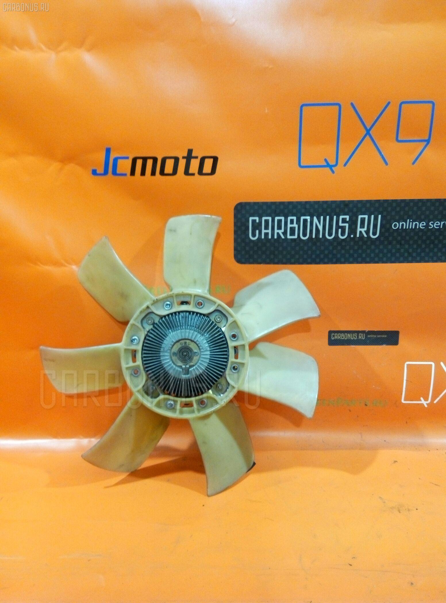 Вискомуфта TOYOTA MARK II JZX100 1JZ-GE Фото 1