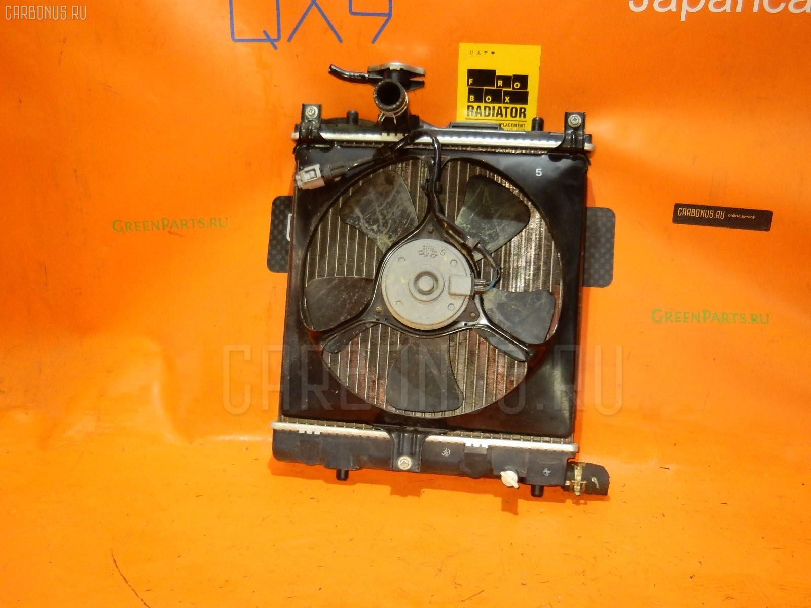 Радиатор ДВС SUZUKI WAGON R MH23S K6A. Фото 5