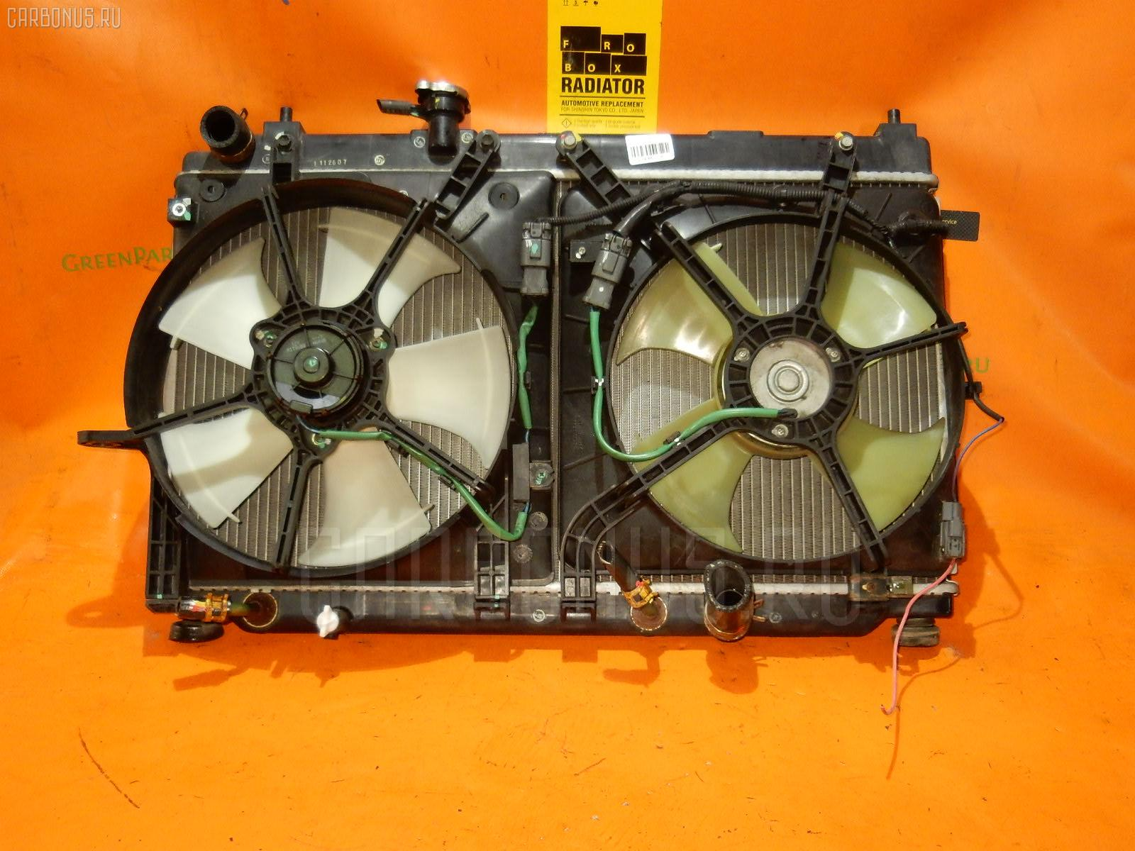 Радиатор ДВС HONDA FIT ARIA GD6 L13A. Фото 9