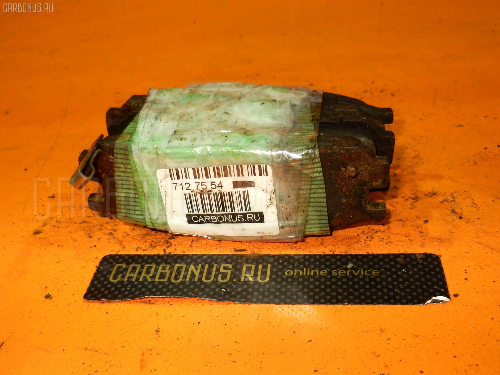 Тормозные колодки SUBARU LEGACY WAGON BG5 EJ20-TT. Фото 3