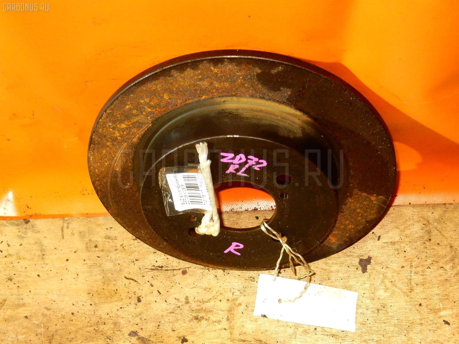 Тормозной диск Suzuki Swift ZD72S K12B Фото 1