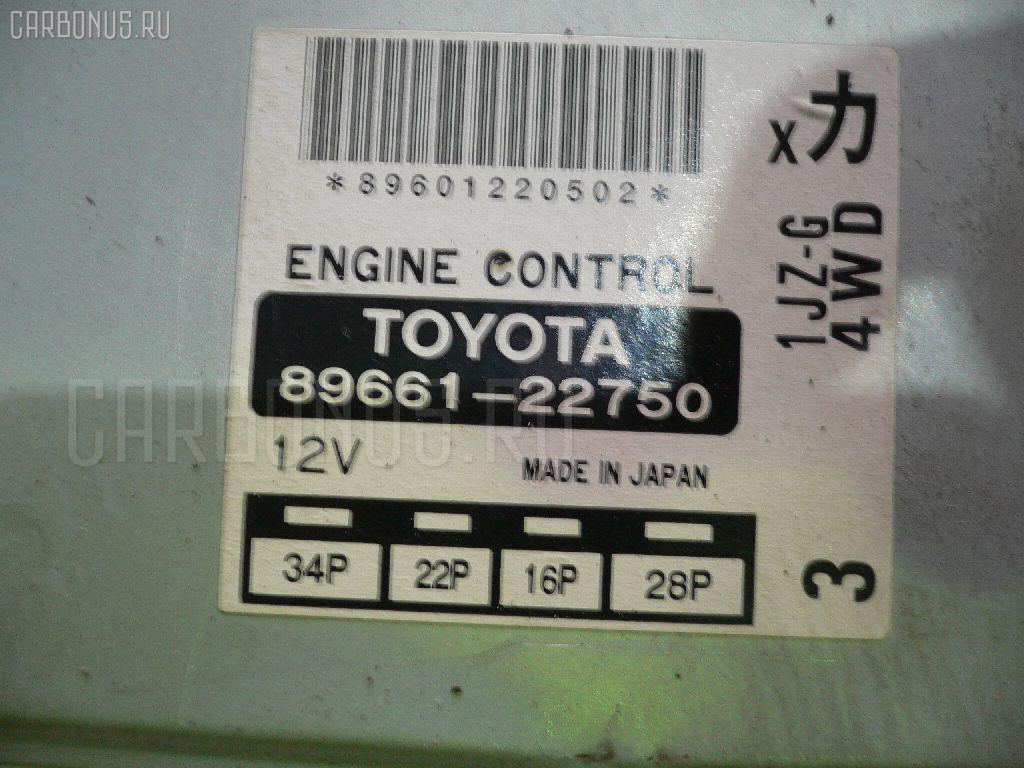 Двигатель TOYOTA MARK II JZX105 1JZ-GE Фото 3