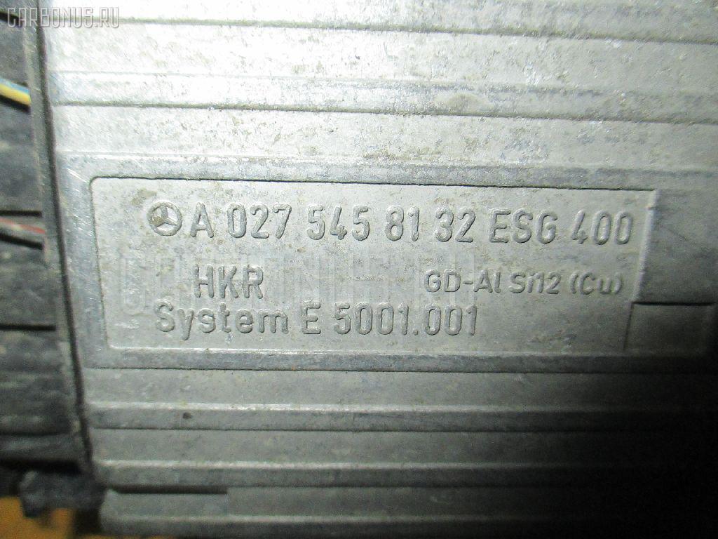 Блок управления вентилятором MERCEDES-BENZ E-CLASS W210.061 112.911. Фото 1
