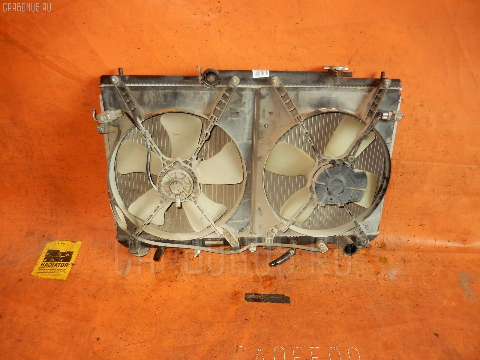 Радиатор ДВС TOYOTA MARK II QUALIS SXV20W 5S-FE. Фото 10