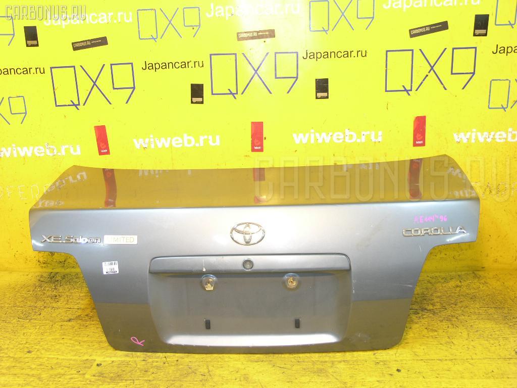 Крышка багажника TOYOTA COROLLA AE114 Фото 1