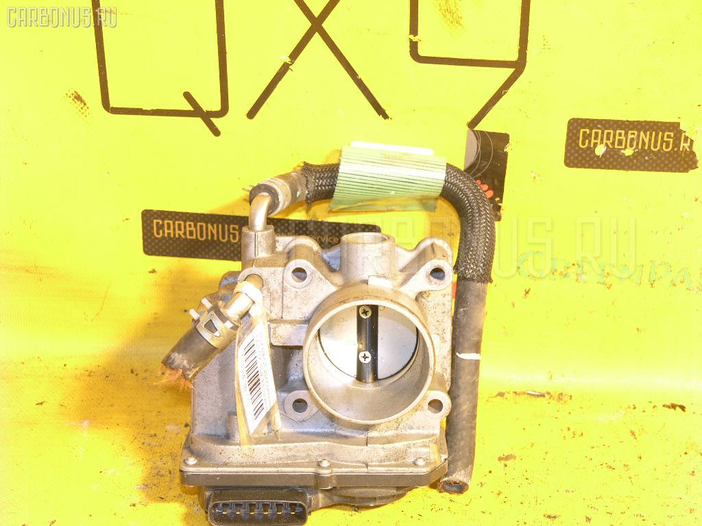 Дроссельная заслонка TOYOTA RACTIS NCP105 1NZ-FE Фото 1