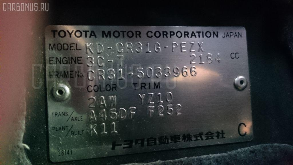 Домкрат TOYOTA TOWN ACE CR31G Фото 2