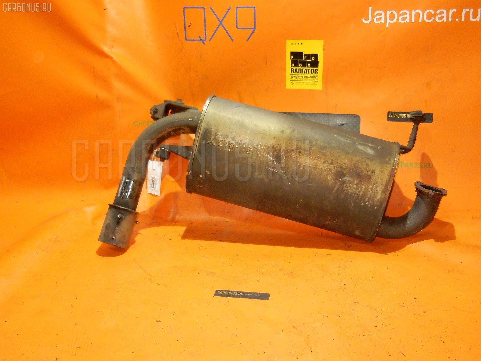 Глушитель MITSUBISHI AIRTREK CU2W 4G63T Фото 1