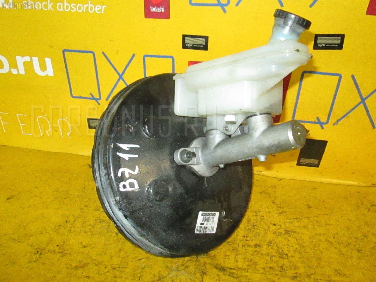 Главный тормозной цилиндр NISSAN CUBE BZ11 CR14DE. Фото 6