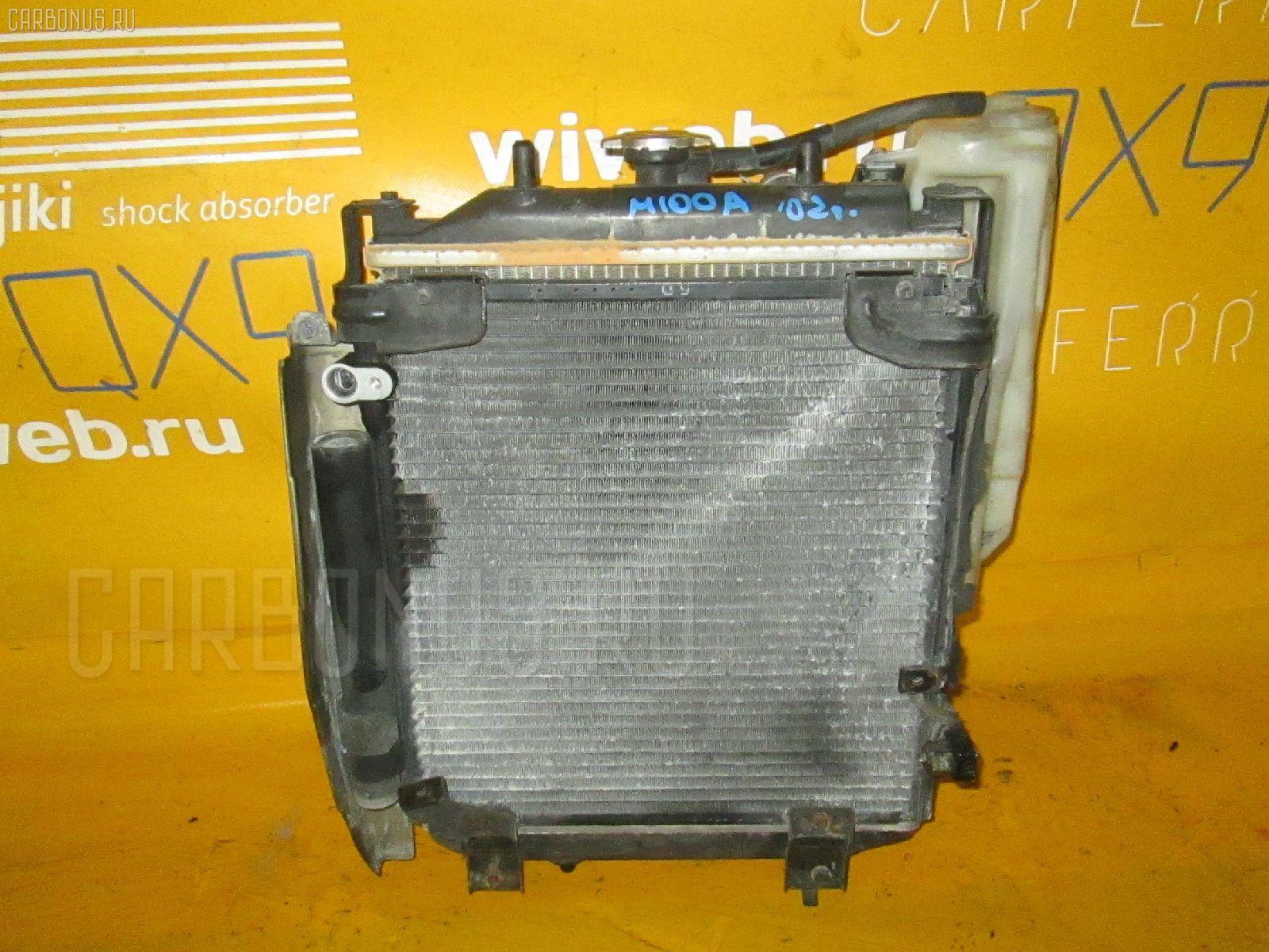 Радиатор ДВС TOYOTA DUET M100A EJ-DE. Фото 11