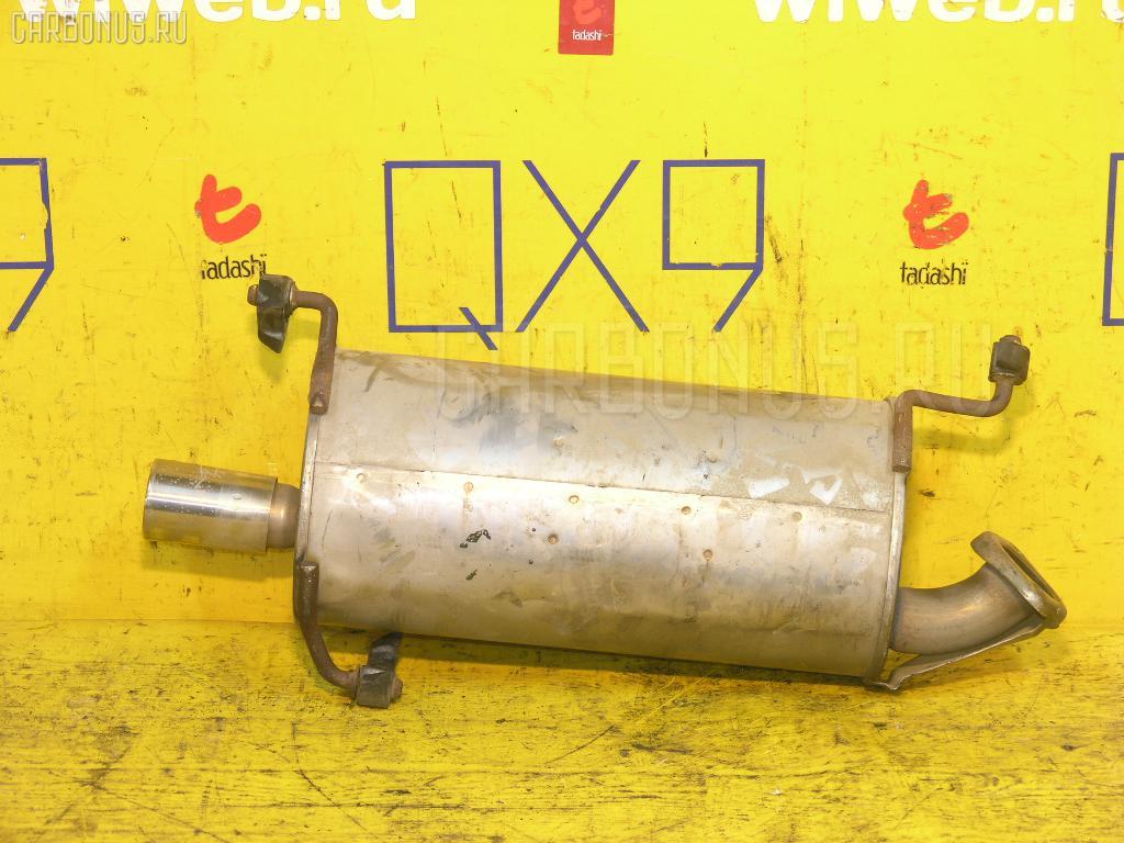 Глушитель SUZUKI SWIFT ZC71S K12B Фото 1