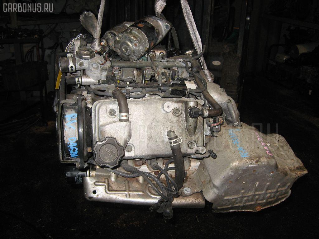 Двигатель SUZUKI EVERY WAGON DA52W F6A-T Фото 2