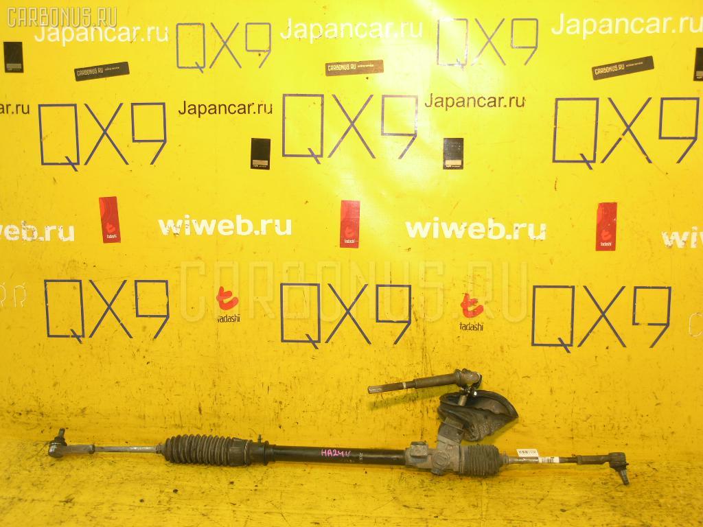Рулевая рейка SUZUKI ALTO HA24S K6A. Фото 10