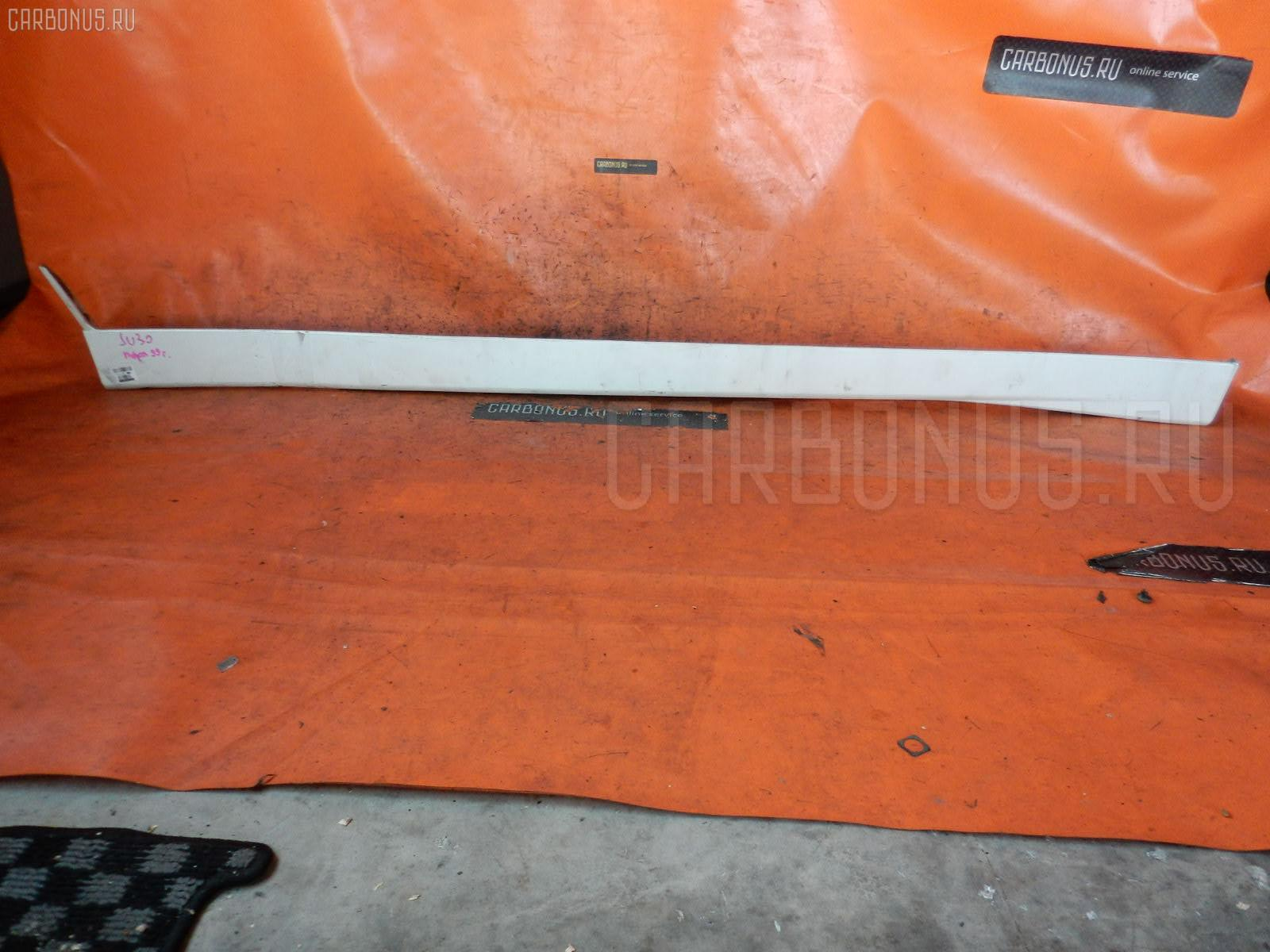Порог кузова пластиковый ( обвес ) NISSAN BASSARA JU30. Фото 3